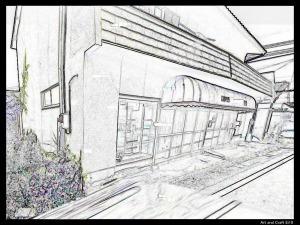 雑貨店→園芸店になって閉店したようです。